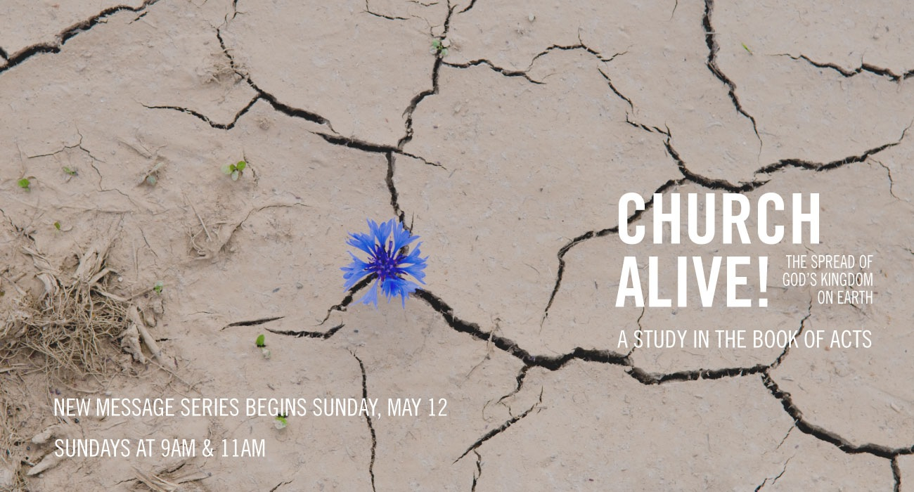 Church Alive - New Message Series