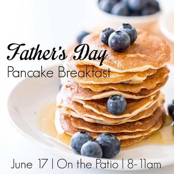Hey dads! We want to celebrate all that you do with a pancake breakfast! Can't wait to see you there!