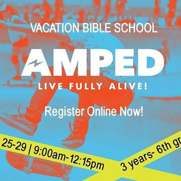 VBS is starting on Monday! We are so AMPED for this week to hang out, have fun, and learn about Jesus with the kiddos!