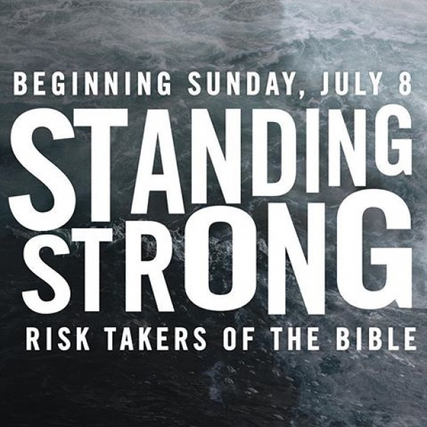 Our new series 'Standing Strong' is starting this weekend. We are looking forward to seeing you at one of our morning services at 9am and 11am.