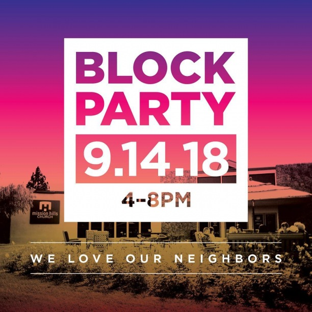 Our Block Party is only 2 days away! Be sure to bring a friend for some games, burgers, and music. Can't wait to see you there!