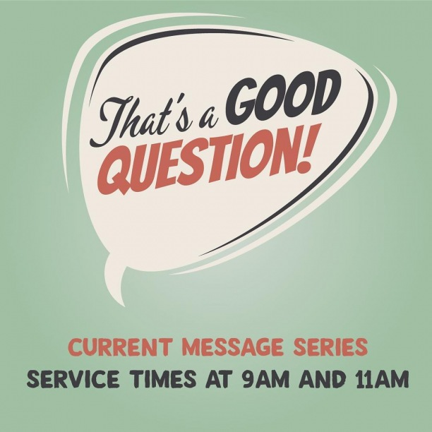 Join us on Sunday as Pastor Brian continues to answer some good questions!