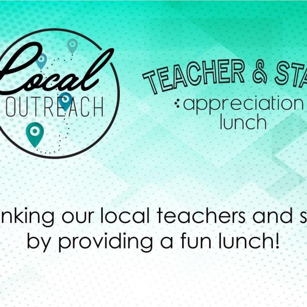 Don't forget to sign up for the Teacher and Staff Appreciation Lunches! Check the website for more details http://ow.ly/eFvH30njnwa