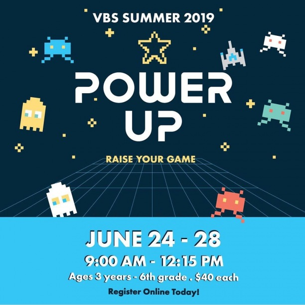 Join us at Mission Hills Church for our 2019 Power Up VBS!  Sign up now! http://ow.ly/lesw50u3O7S