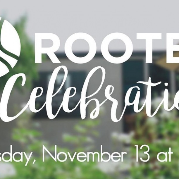 Join us tonight at 6:30 PM to celebrate what we have experienced during Rooted. We will begin together in the worship center and conclude with dessert on the patio (there will be heaters!). Childcare is provided.